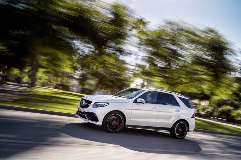 2016 Mercedes-AMG GLE63 High Resolution Exterior - image 623836
