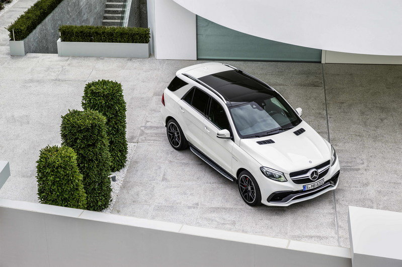 2016 Mercedes-AMG GLE63 High Resolution Exterior - image 623856