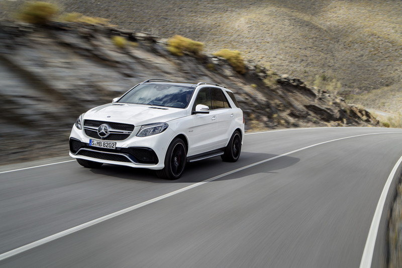 2016 Mercedes-AMG GLE63 High Resolution Exterior Wallpaper quality - image 623834