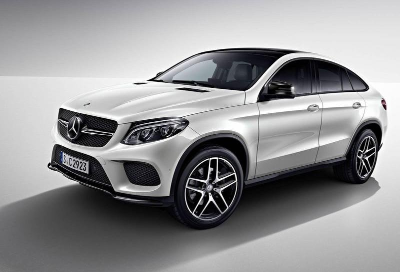 2016 Mercedes-Benz GLE Coupe Night Package