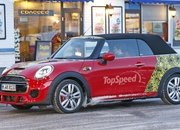 Mini JCW Convertible Shows Some Skin: Spy Shots - image 621282