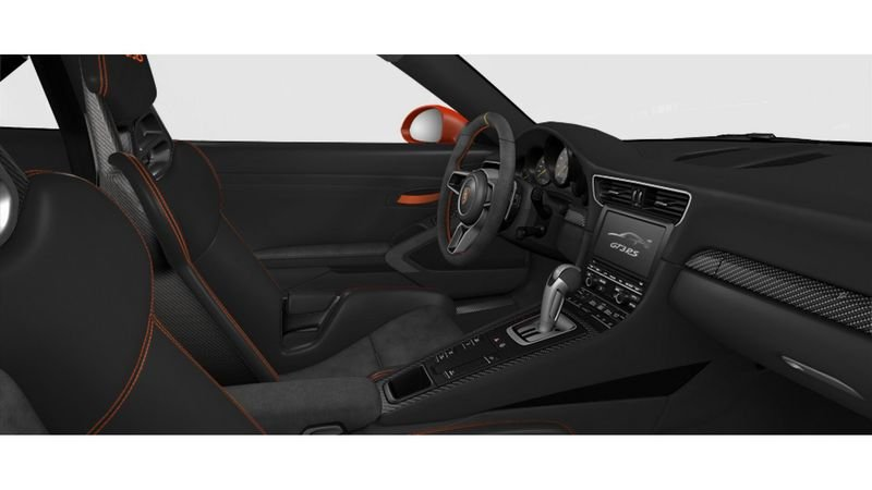 Porsche 911 GT3 RS Configurator Goes Live Interior - image 620702