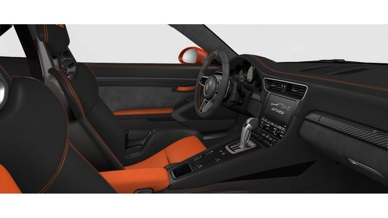 Porsche 911 GT3 RS Configurator Goes Live Interior - image 620712