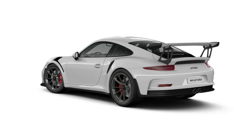 Porsche 911 GT3 RS Configurator Goes Live High Resolution Exterior - image 620693