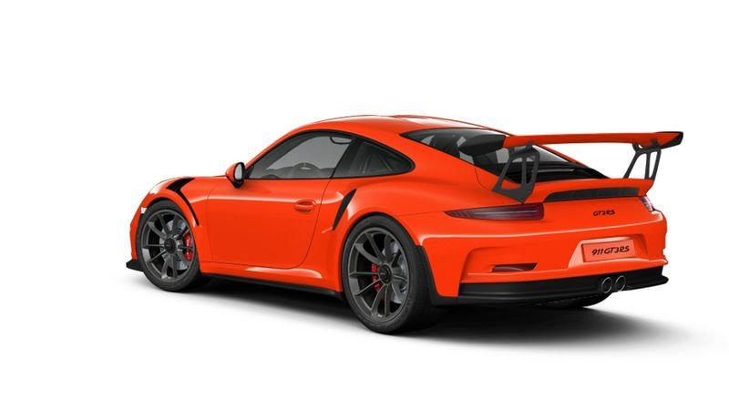 Porsche 911 GT3 RS Configurator Goes Live High Resolution Exterior - image 620695
