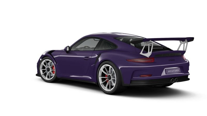 Porsche 911 GT3 RS Configurator Goes Live High Resolution Exterior - image 620697