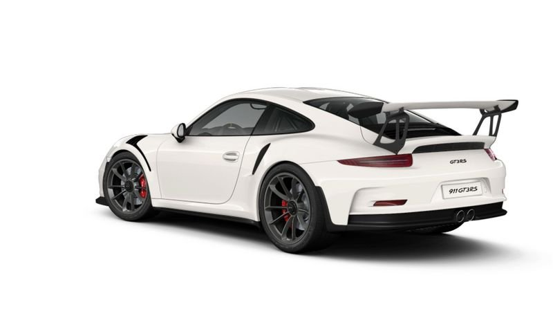 Porsche 911 GT3 RS Configurator Goes Live High Resolution Exterior - image 620699