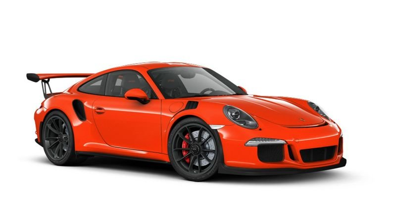 Porsche 911 GT3 RS Configurator Goes Live High Resolution Exterior - image 620700