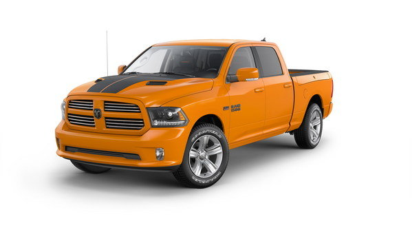 2015 Ram 1500 Ignition Orange And Black Sport Review Top