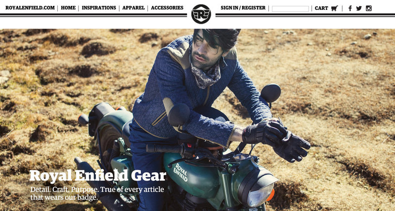 Royal Enfield Launches Online Store, India Gets First Dibs