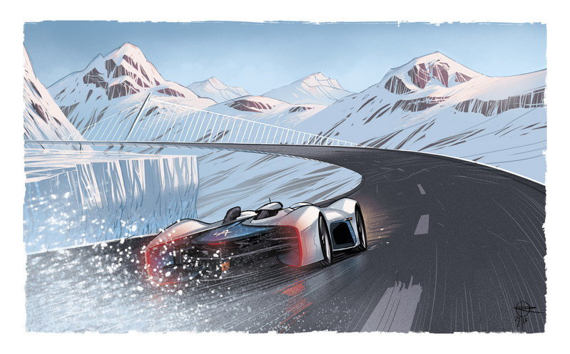The Making Of The Alpine Gran Turismo: Video Drawings - image 623735