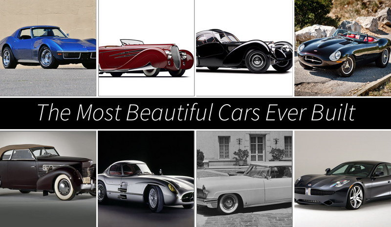 The Most Beautiful Cars Ever Built