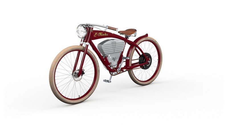 2015 Vintage Electric Showcases The E Tracker Electric Bicycle