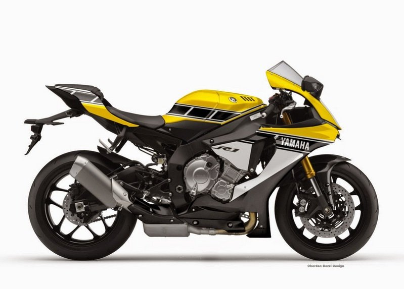 Yamaha YZF-R1 Receives Classic Racing Liveries High Resolution Exterior - image 623538