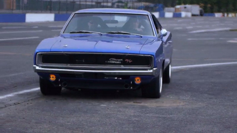 1968 Dodge Charger Showing Off At The Track: Video