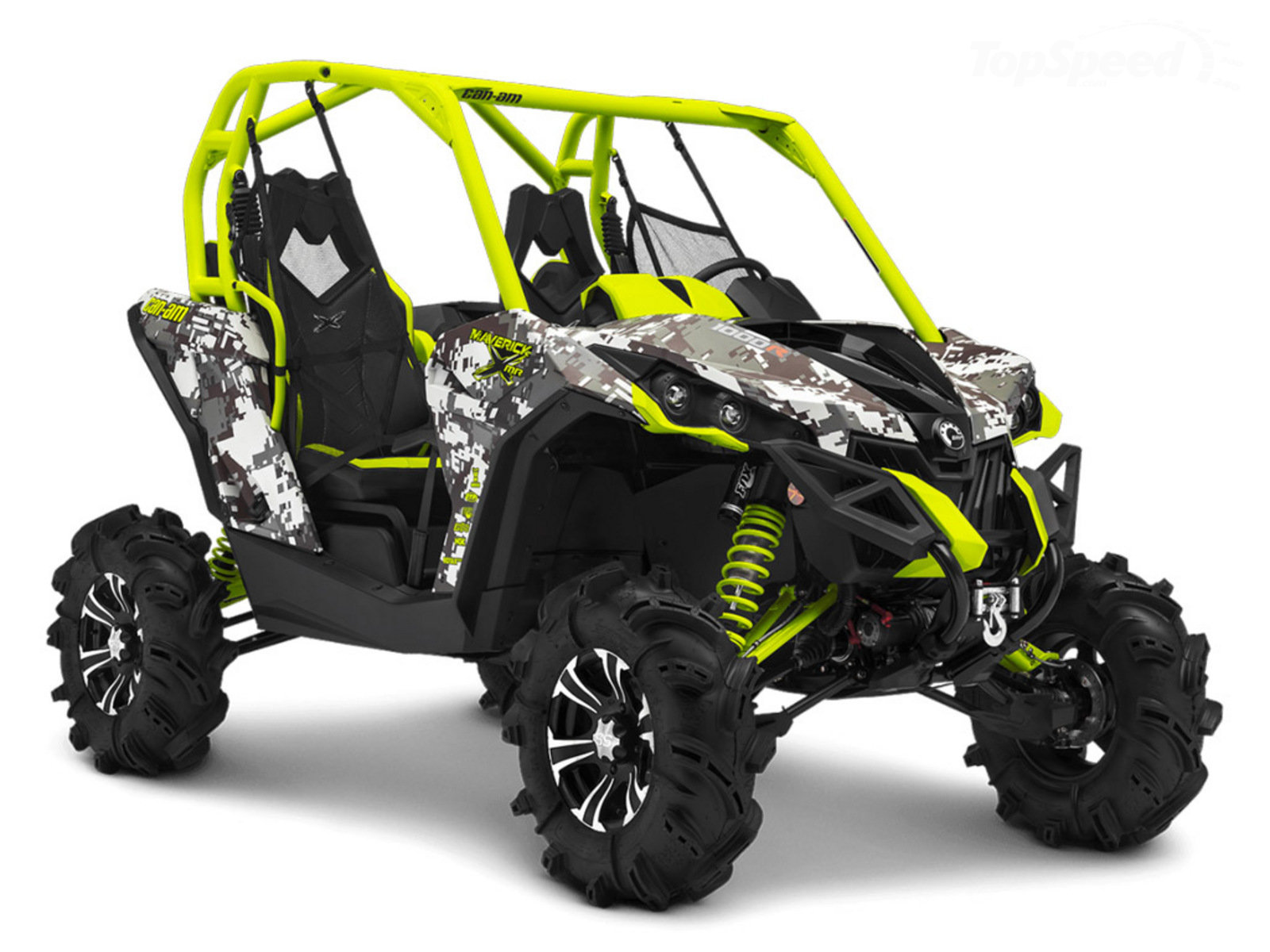 2015 Can-Am Maverick X Mr DPS Review - Top Speed