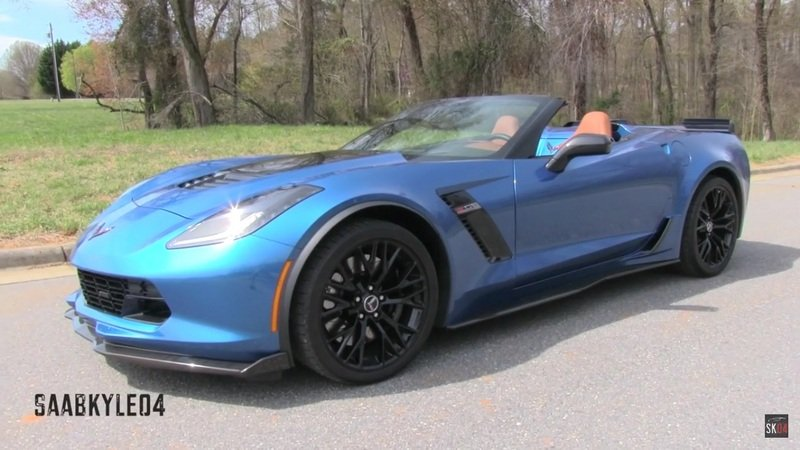2015 Chevrolet Corvette Z06 Convertible Review: Video