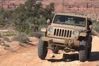 2015 Easter Jeep Safari Concepts tackle Moab: Video