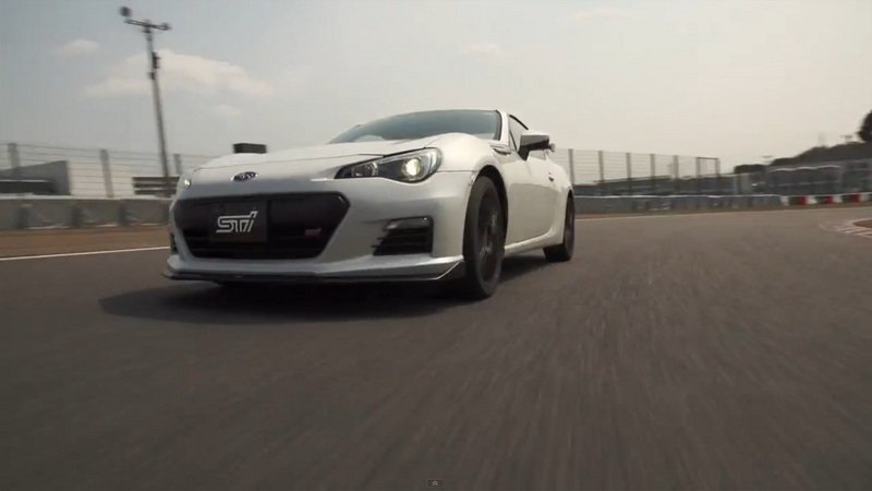 2015 Subaru BRZ tS Tuned by STI Driven: Video