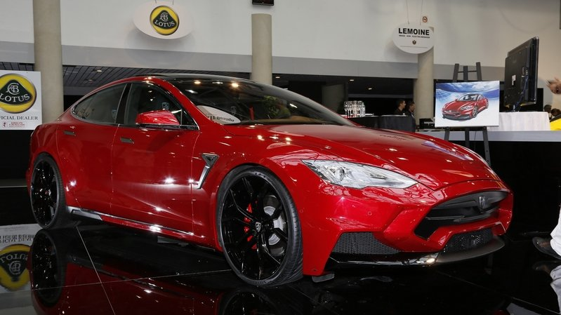 2015 Tesla Model S Elizabeta By Larte Design