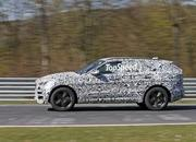 Jaguar F-Pace Spied Inside And Out: Spy Shots - image 628563