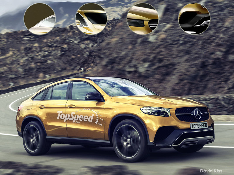 2017 Mercedes-Benz GLC Coupe Exclusive Renderings - image 625957