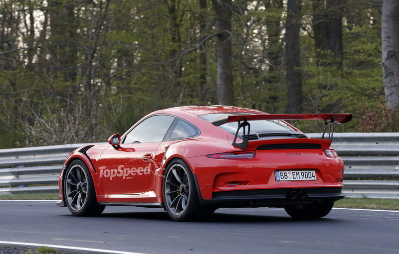 Mark Webber Takes The Porsche 991 GT3 RS For A Spin On The Nurburgring High Resolution Exterior - image 627998