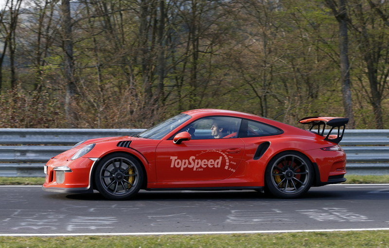 Mark Webber Takes The Porsche 991 GT3 RS For A Spin On The Nurburgring High Resolution Exterior - image 628001