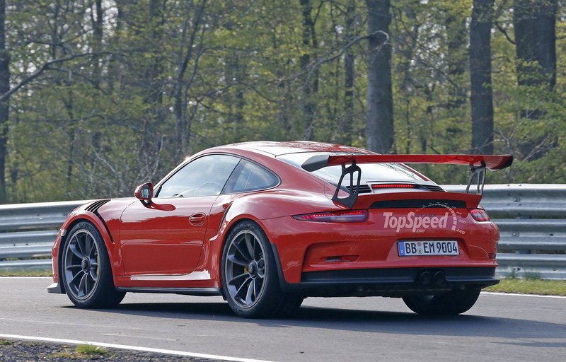 2016 Porsche 911 GT3 RS High Resolution Exterior - image 628003