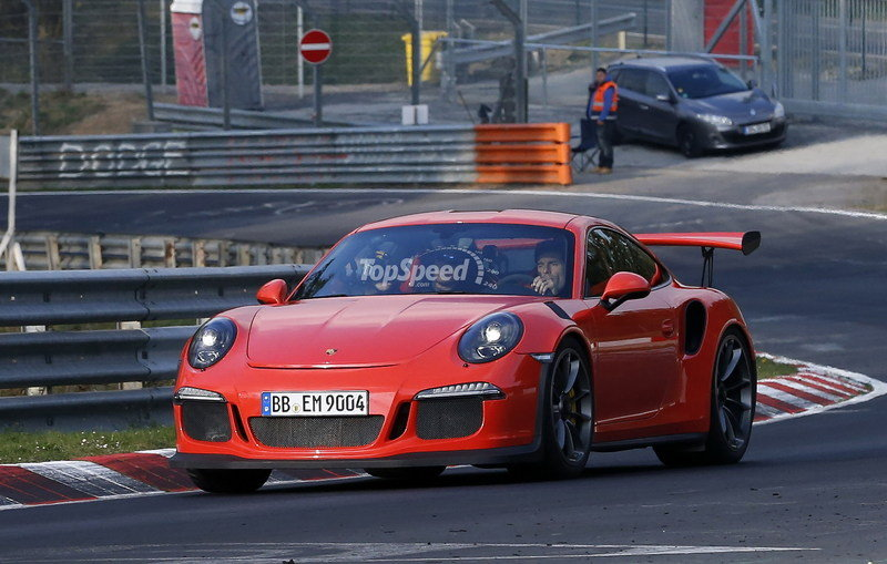 Mark Webber Takes The Porsche 991 GT3 RS For A Spin On The Nurburgring High Resolution Exterior - image 627996