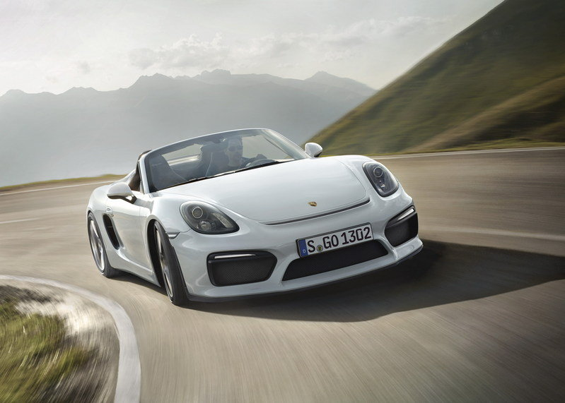 2016 Porsche Boxster Spyder Wallpaper quality - image 624538