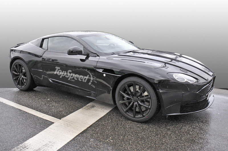 Aston Martin DB9 Successor Spotted With New Bodywork: Spy Shots Exterior Spyshots - image 625597