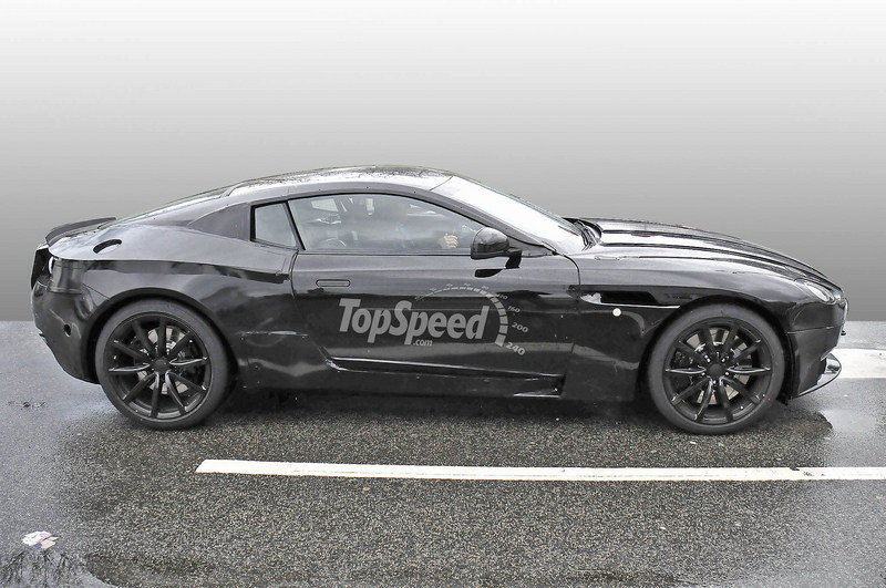 Aston Martin DB9 Successor Spotted With New Bodywork: Spy Shots