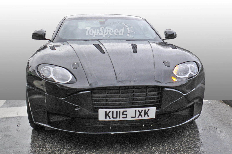 Aston Martin DB9 Successor Spotted With New Bodywork: Spy Shots Exterior Spyshots - image 625592
