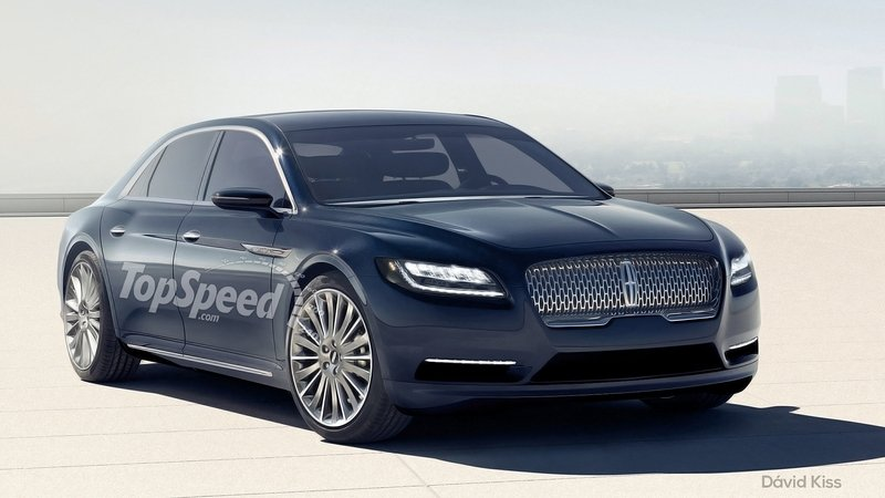 2017 Lincoln Continental To Be Built In Michigan