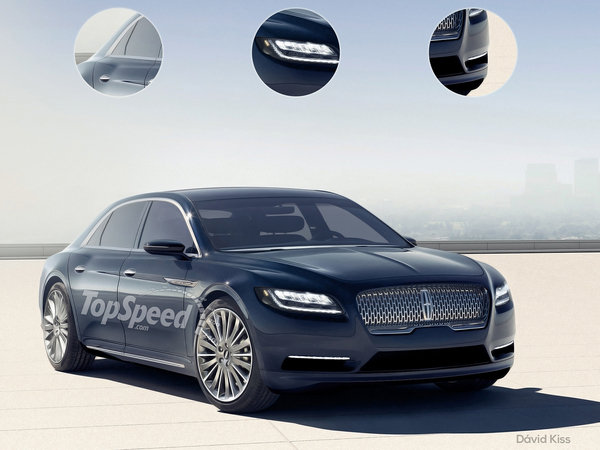 2017 lincoln continental car review top speed. Black Bedroom Furniture Sets. Home Design Ideas