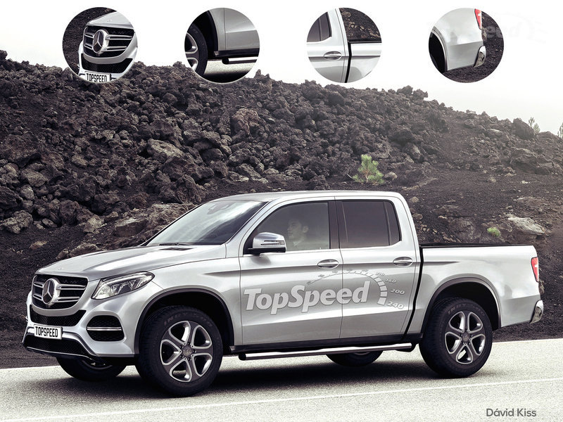 2020 Mercedes-Benz Pickup Truck: EXCLUSIVE!