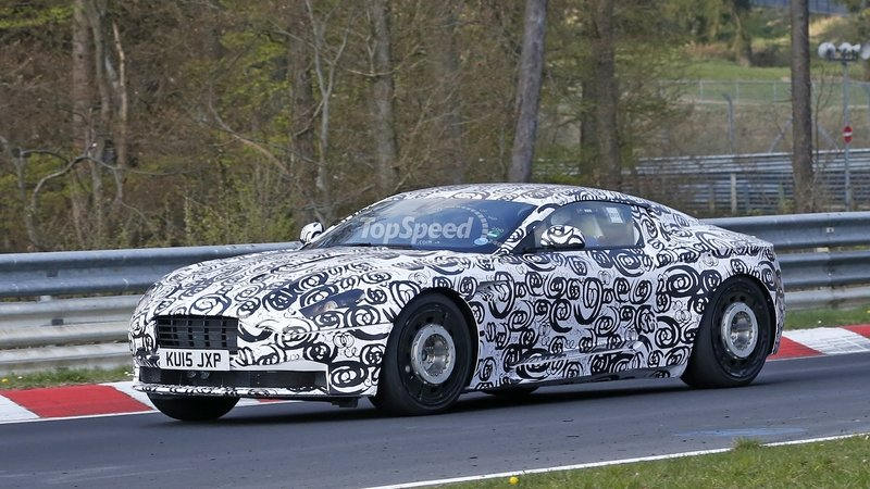 Aston Martin DB9 Successor Testing At Nurburgring: Spy Shots