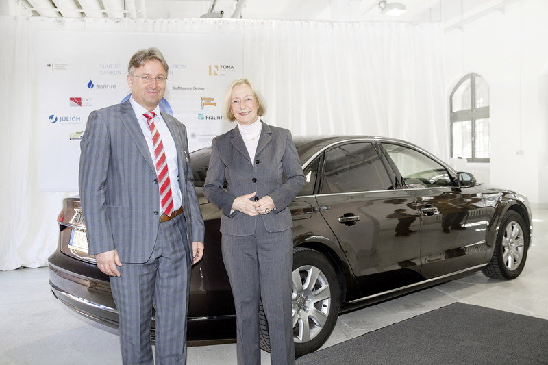 Audi Produces Its First Batch Of e-diesel