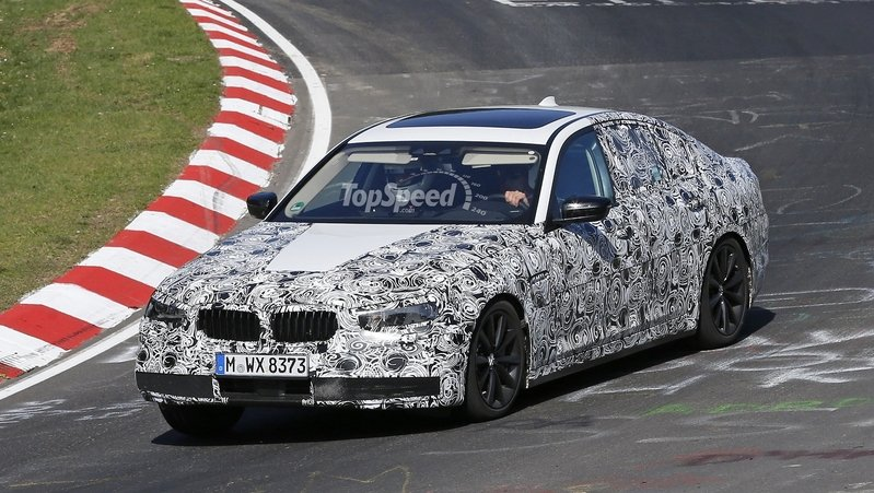 BMW 5 Series Makes Its Nurburgring Debut: Spy Shots