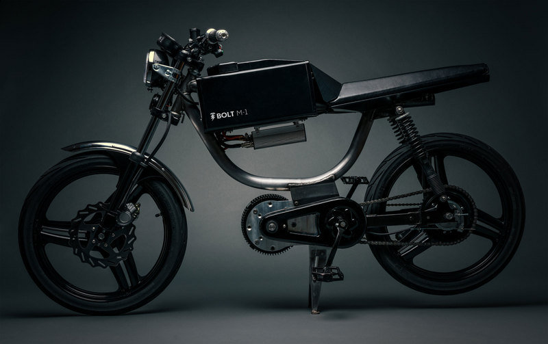 Bolt M-1 Is The Electric Moped Of The Future