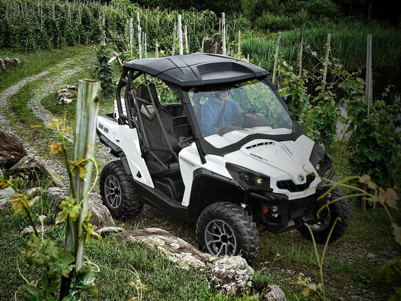 2015 Can-Am Commander E LSV SE | Top Speed