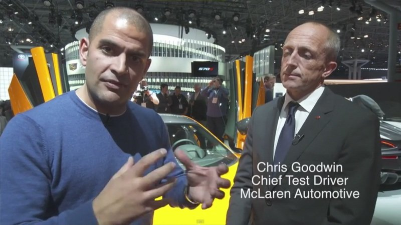 Chris Harris Chats With McLaren's Chief Test Driver About The 570S: Video