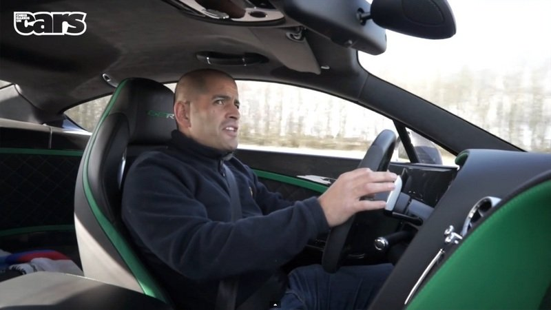 Chris Harris Makes a Bentley Continental GT3 R Dance: Video