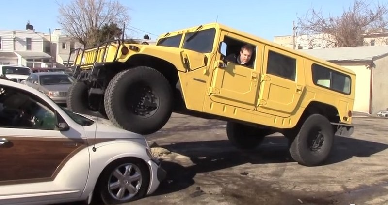 Doug DeMuro Buys a PT Cruiser to Park His Hummer On