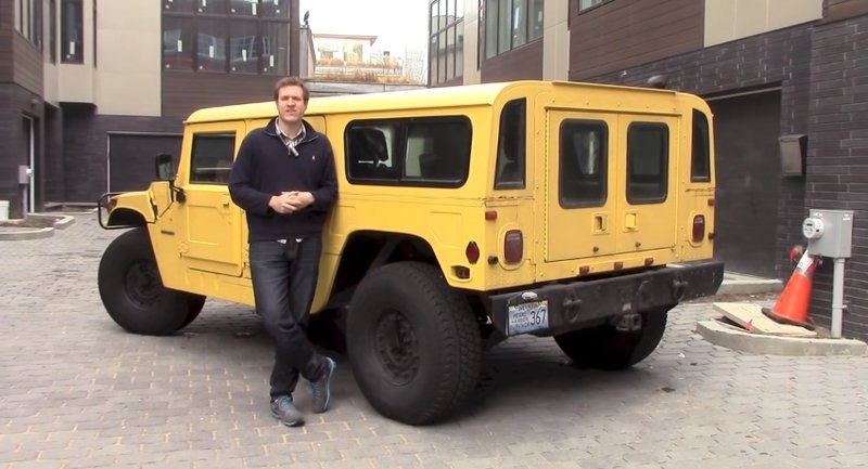 Doug DeMuro Reminds Us Why The Hummer H1 is Awesome: Video