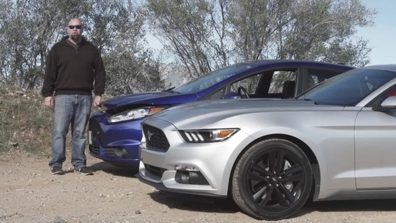 DRIVE Pits The Ford Fiesta ST Vs. The Mustang: Video
