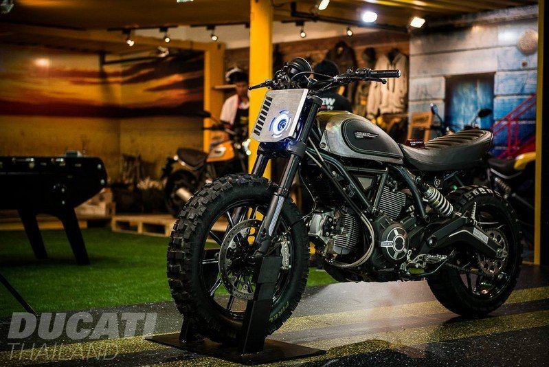 Ducati Thailand Cooks Up The Scrambler Dirt Track Concept