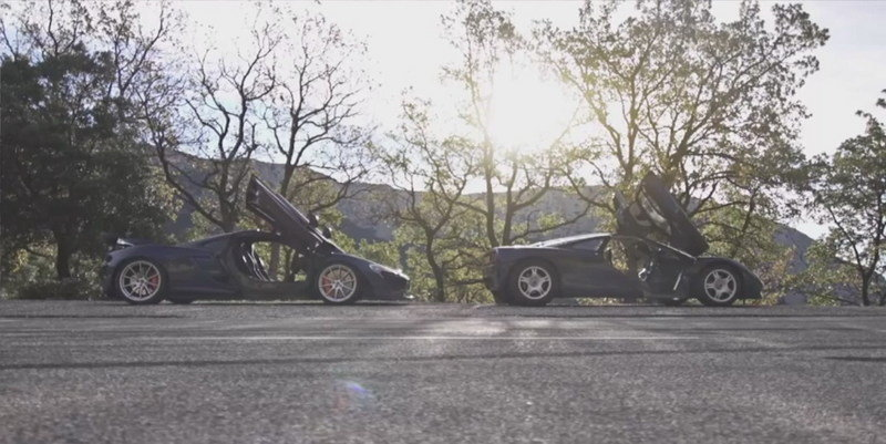 EVO Pits The McLaren P1 Against The McLaren F1: Video