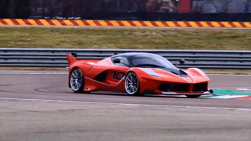 Onboard The Ferrari FXX K With Sebastian